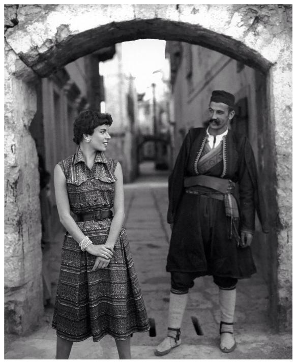 Crnogorac i Francoise Dambier na Elle fotografiji davne 1955.