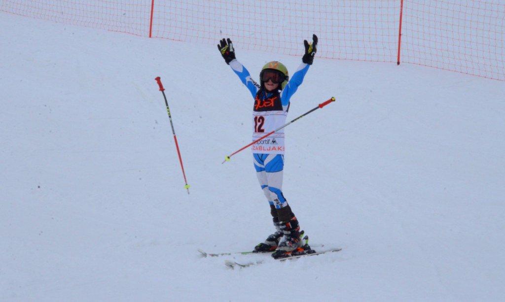 Na Žabljaku takmičenje u alpskom skijanju