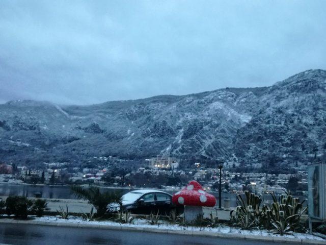 Zabijelila Boka: Snijeg se spustio i do Kotora