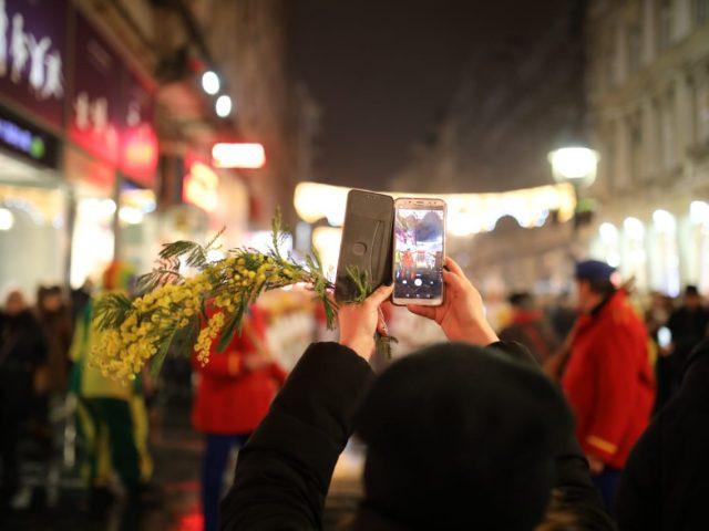 Mimoza i duh Jadrana zagrijali sniježni Beograd