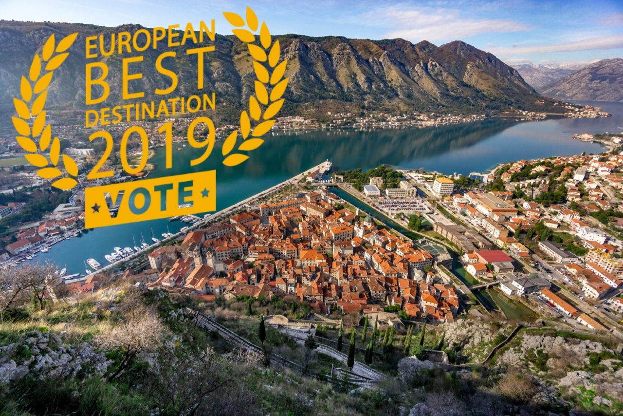 "Kotor recieves nomination for ""best european destination 2019"""
