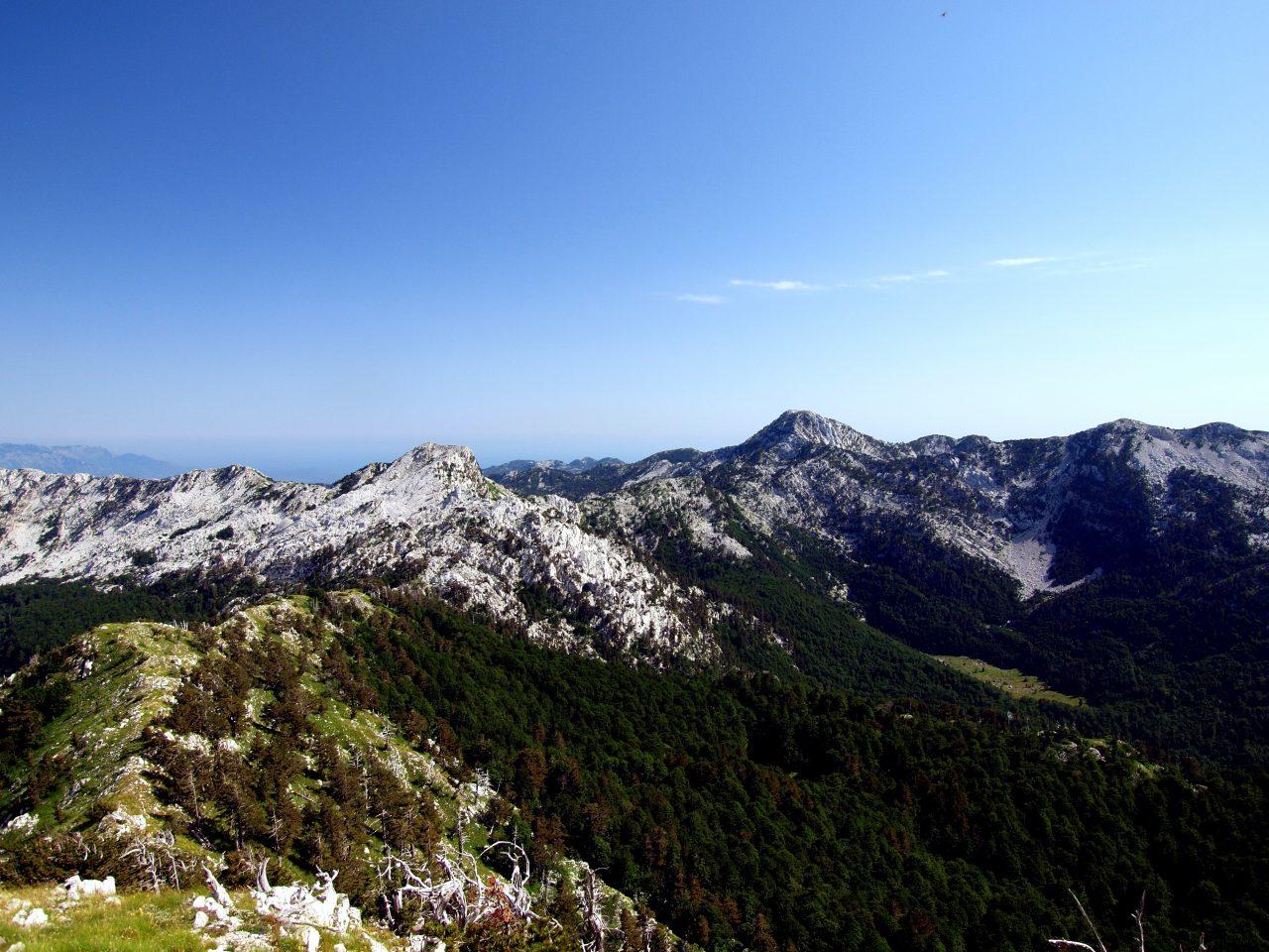 Planinari upozoravaju: Ne krećite na Orjen za praznike