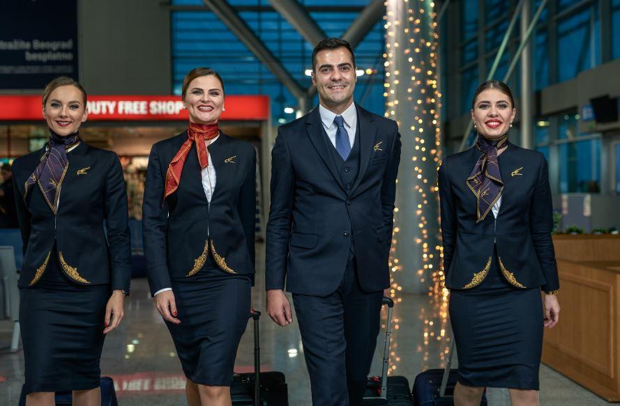 Pogledajte nove uniforme kabinskog osoblja Montenegro Airlines-a