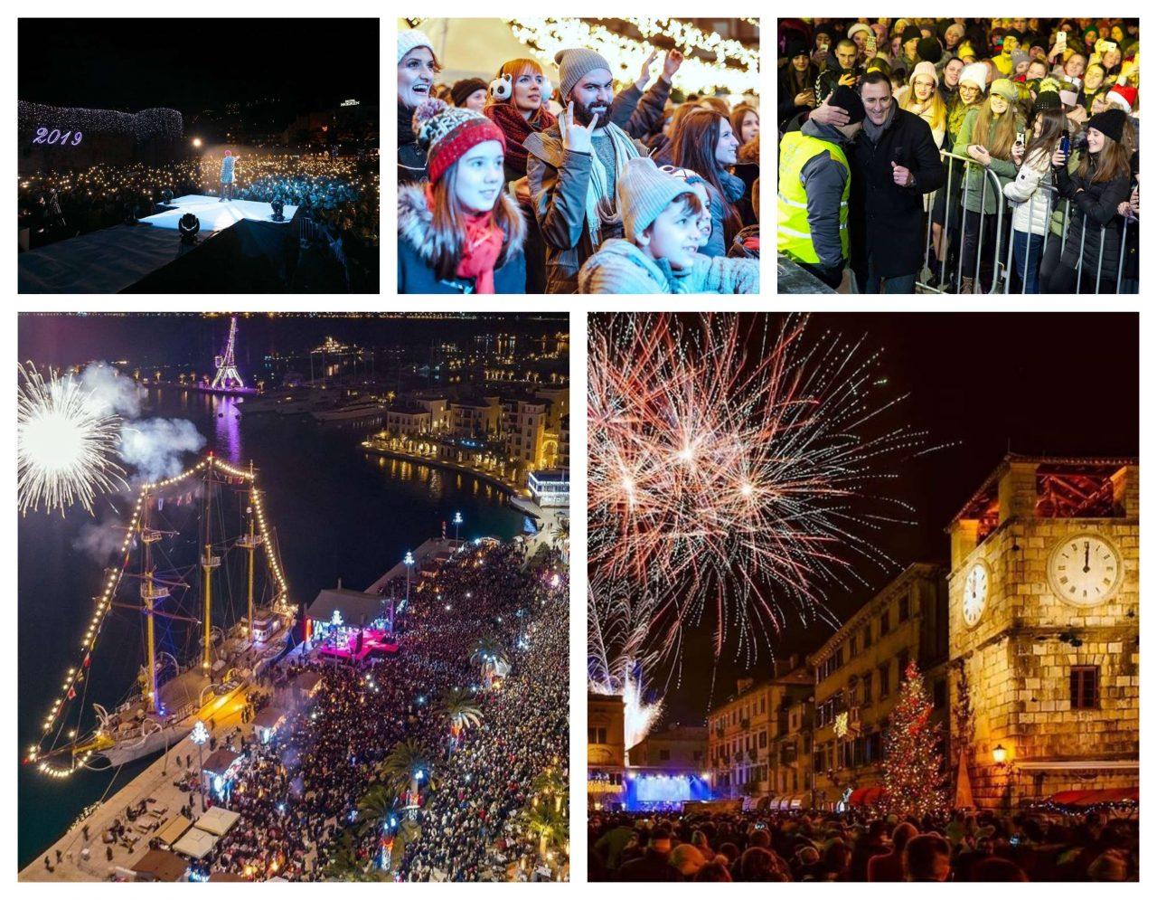 TOP 5 fotografija sa novogodišnjih dočeka u Crnoj Gori!