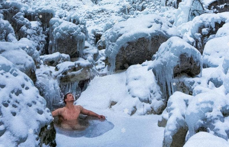 Maxim continues with his adventures across Montenegro: Dangerous Canyon Nevidio at -15 degrees