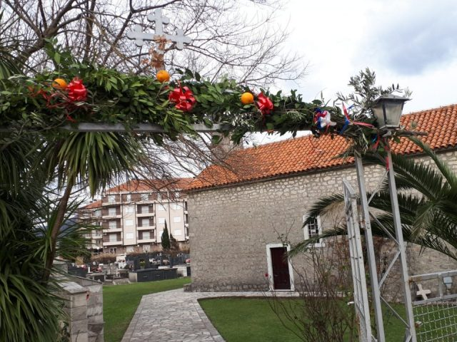Christmas traditions in Boka bay