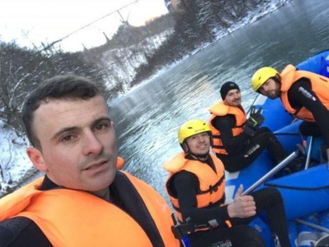 Praznični rafting Tarom na minus 17