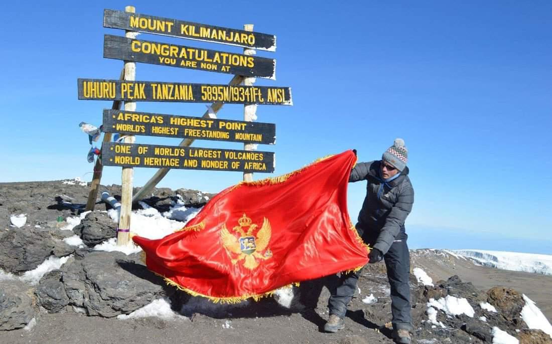 """Cetinjski planinari o usponu na """"krov Afrike"""""""