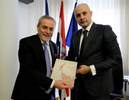 Dogovorena saradnja Cetinja i Zagreba