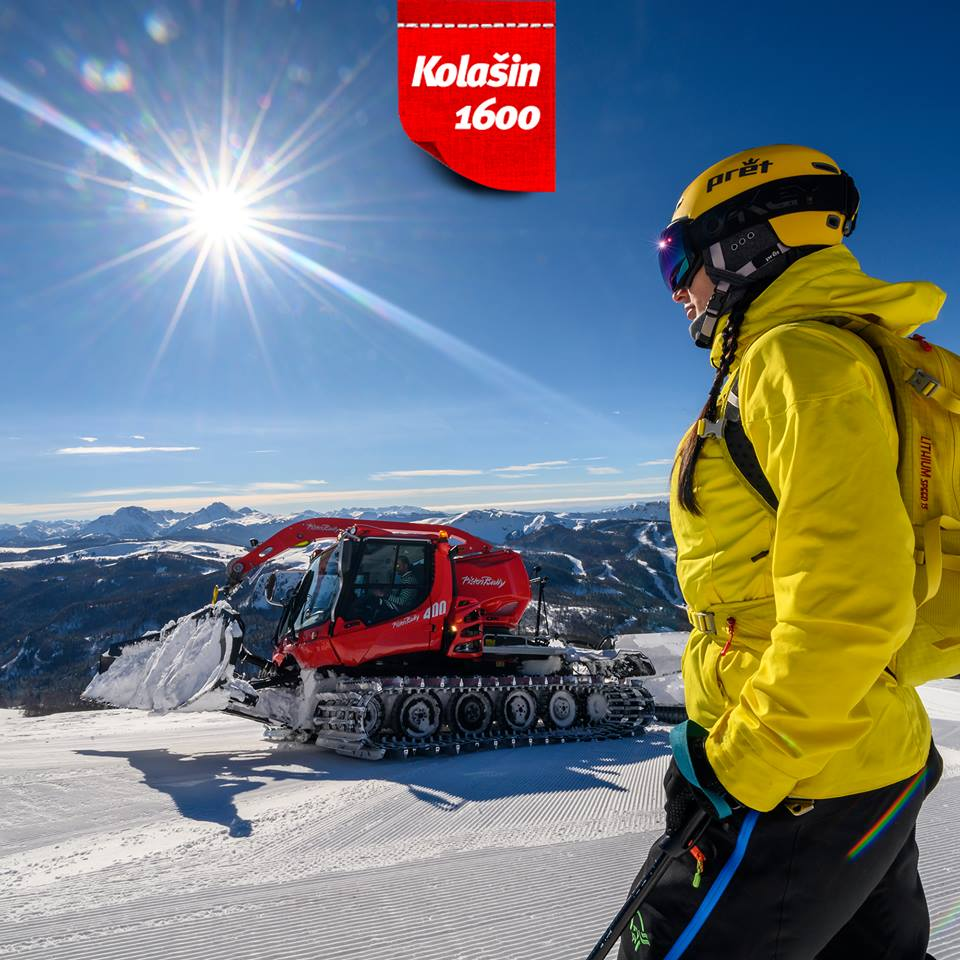 Kolasin 1600 opening party on Saturday! New: six-seat lift!