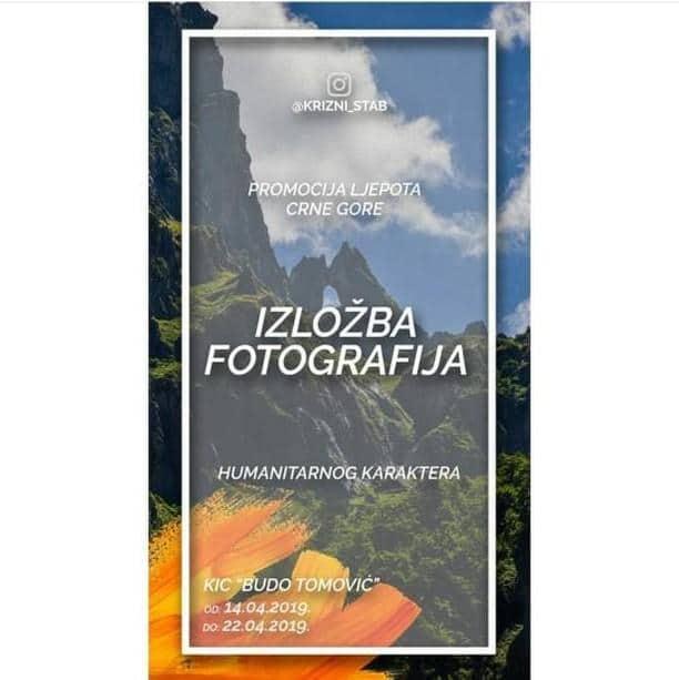 Humanitarna izložba: Prirodne ljepote Crne Gore na fotkama u KIC-u