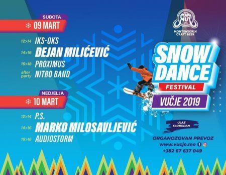Snow dance festival na Vučju 9. i 10.marta