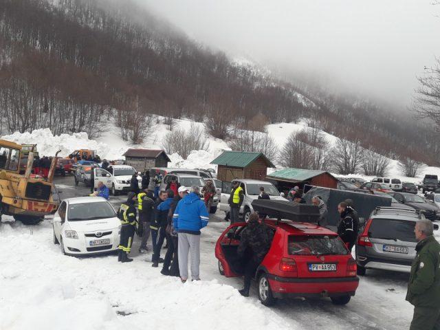 "Sjutra prva auto trka ""Montenegro winter CUP Lovćen 2019"""