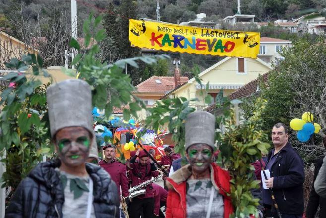 Lastovski karnevao 24.februara