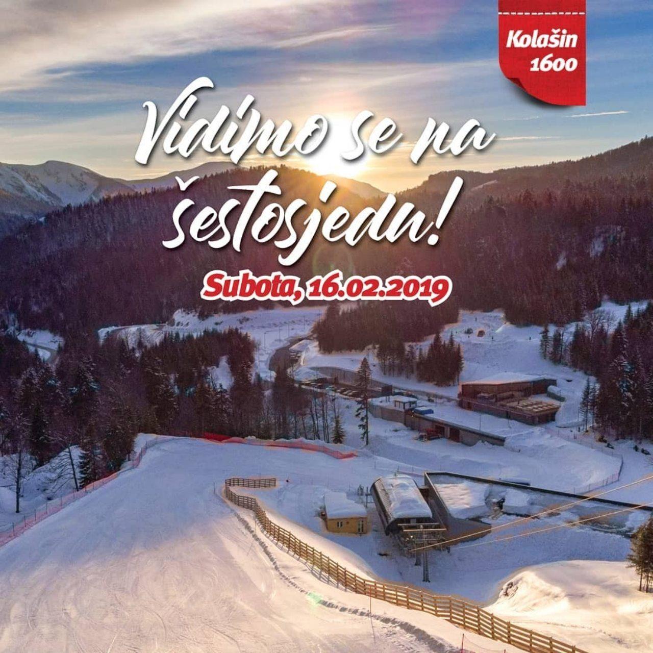 Sergej Ćetković na otvaranju skijališta Kolašin 1600! Vidimo se na šestosjedu!