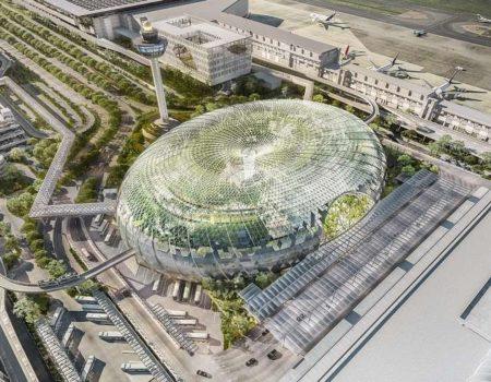 Aerodrom u Singapuru je turistička atrakcija: vrt na četiri sprata, staze za šetnju, vodopad