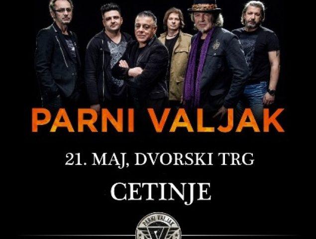 Parni valjak za Dan nezavisnosti na Cetinju