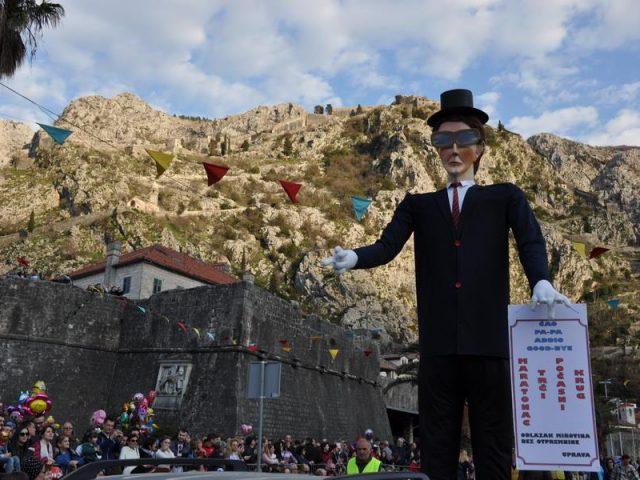 Kotorani spalili krivca Đudića Ultima Montanjara