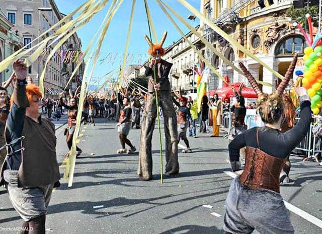 Bokelji srdačno dočekani na Riječkom karnevalu