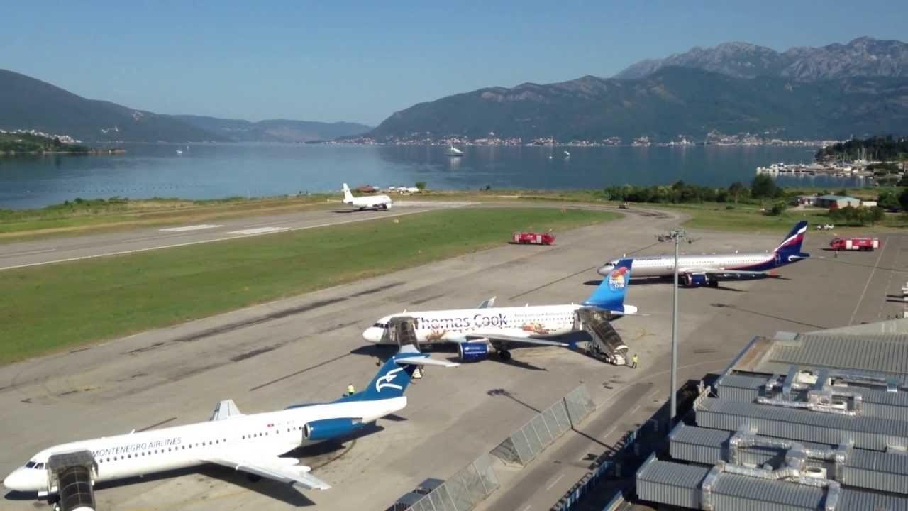 Ovog ljeta na aerodromu Tivat bolje usluge, komfor i kontrola