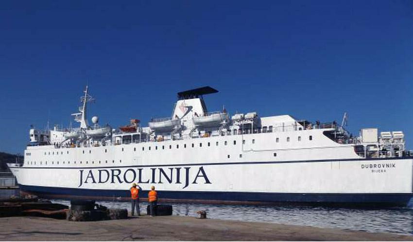 Bar i Bari ponovo će spajati hrvatski brod Dubrovnik
