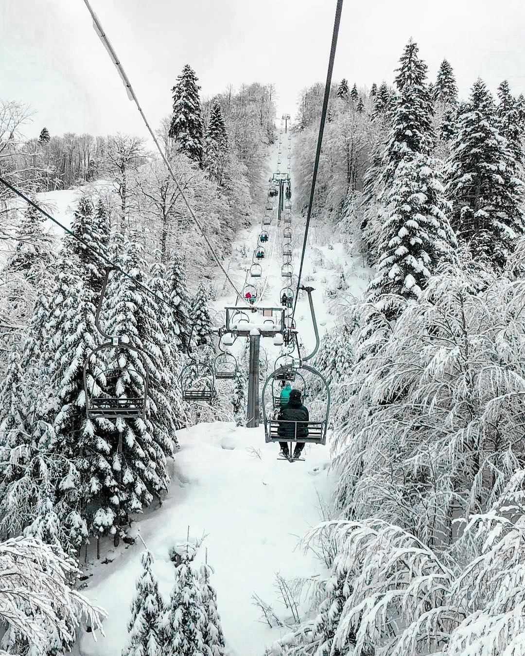 Visina sniježnog pokrivača u crnogorskim ski centrima