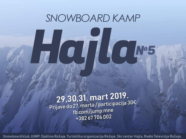 Još zabave na Hajli: Uskoro peti Snowboard kamp!