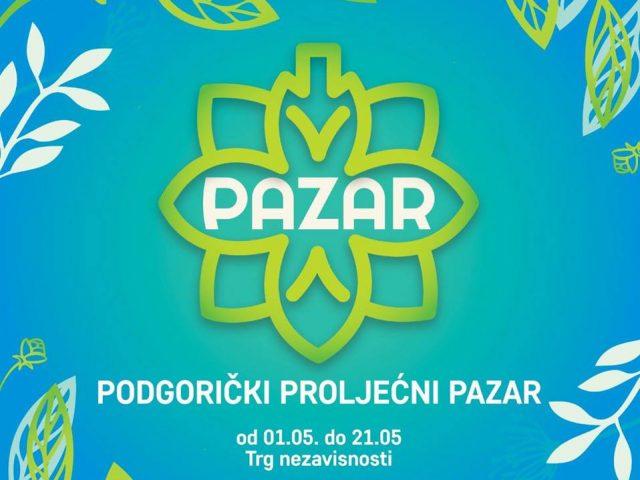 Na radost građana i turista: Podgorički proljećni pazar od 1. do 21. maja!
