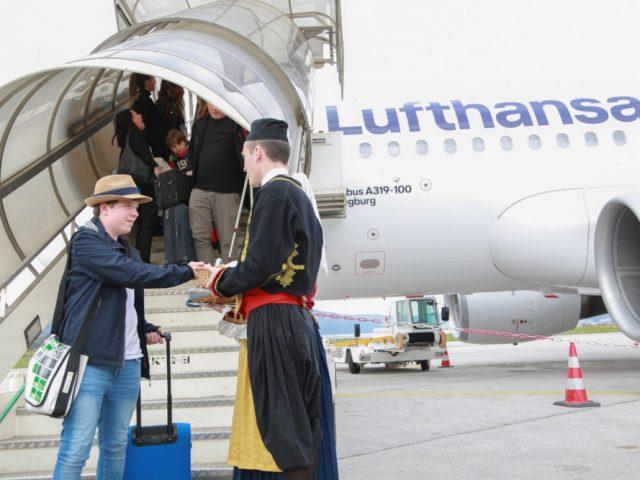 Lufthansa stigla u Crnu Goru