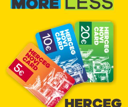 Dopunili i redizajnirali Herceg Novi City card