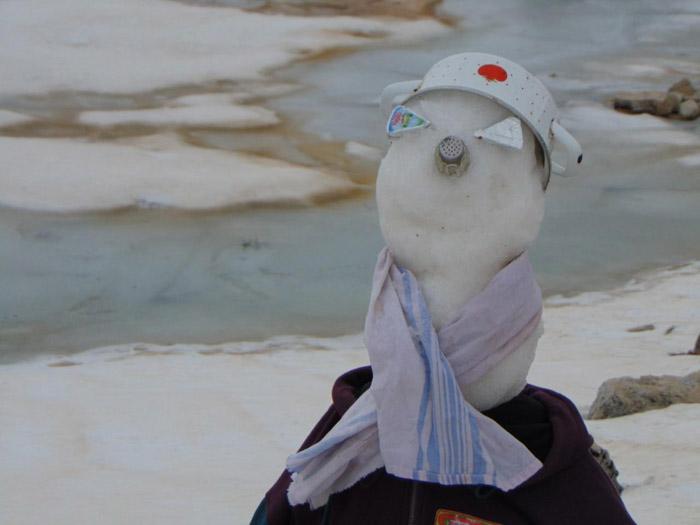 Na Orjenskoj lokvi još ima snijega, rijetki guštaju