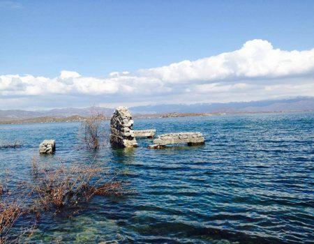 Za sve žedne tišine: Orlina na Slanom jezeru
