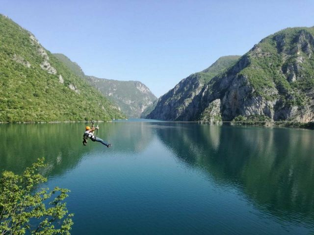 Visit Pluzine & experience the longest Zip-line in Montenegro!
