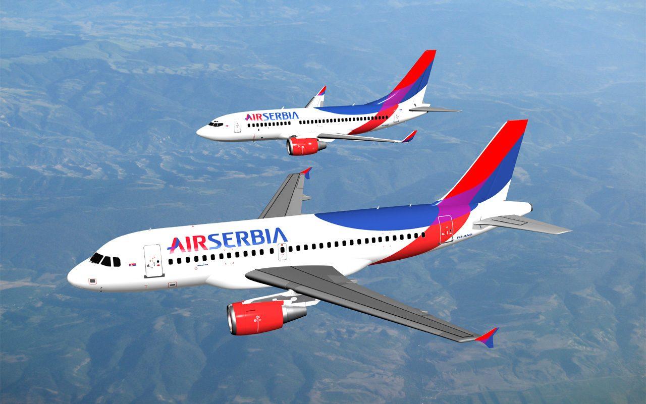 Air Serbia: Od Niša do Tivta i nazad za 48 eura
