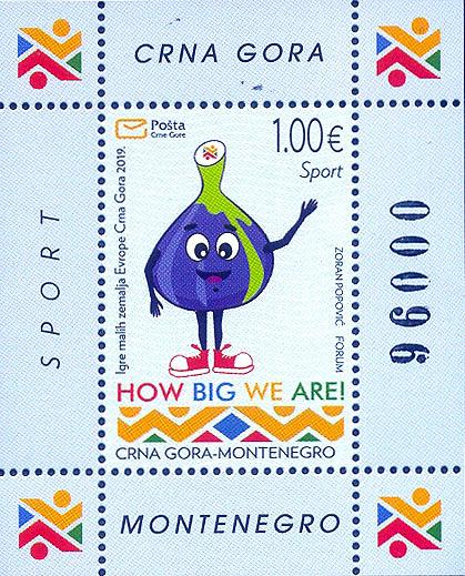 Izdata poštanska marka u čast Igara malih zemalja Evrope