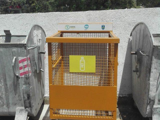 Budvani na 30 lokacija mogu odlagati plastični otpad
