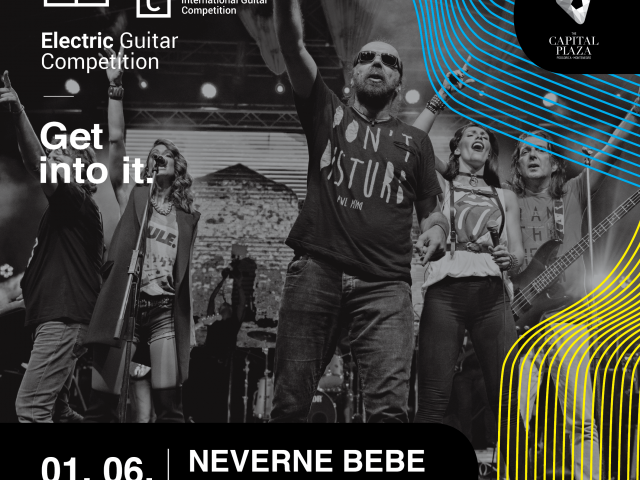 Electric Guitar Competition i Neverne bebe 1. juna u Podgorici