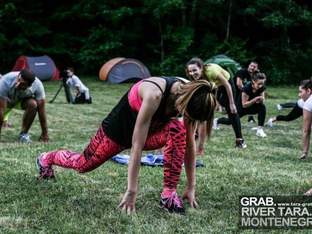 Fitnes kamp na Tari od 7. do 9. juna