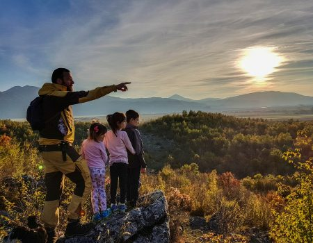 Velizar, Olga, Nora i Luka – četverac koji osvaja ljepote Crne Gore