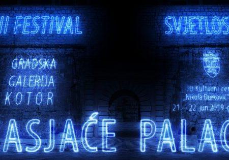 Zasjaće palaci: Dođite u Kotor na Festival svjetlosti
