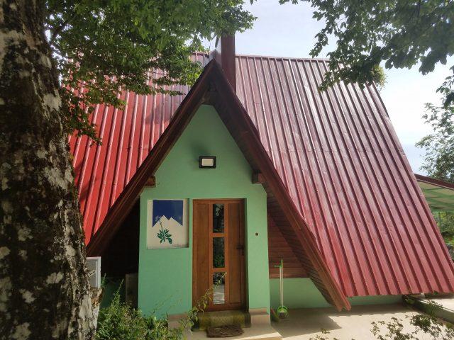 Uređen objekat Botaničke bašte Dulovine