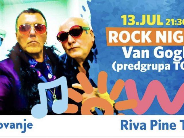 Tivat Rock night: Sjajni Van Gogh i Ansambl Toć