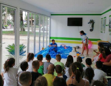 Mališani u Budvi učili o štetnosti plastike u moru