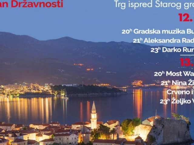 Sjajni koncerti u Budvi 12. i 13. jula: Darko Rundek, Aleksandra Radović, Željko Vasić, …