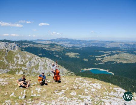 Žičarom na nastup: Umjetnost na crnogorskim vrhovima