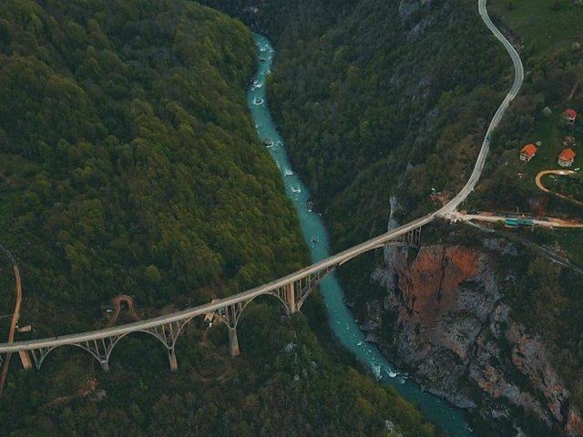 Most na Đurđevića Tari pozadina na Windows računarima