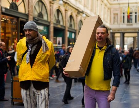 """Tivat: Booksovci i komedija """"Svi ćemo se jednog dana kopat u Evropu"""""""