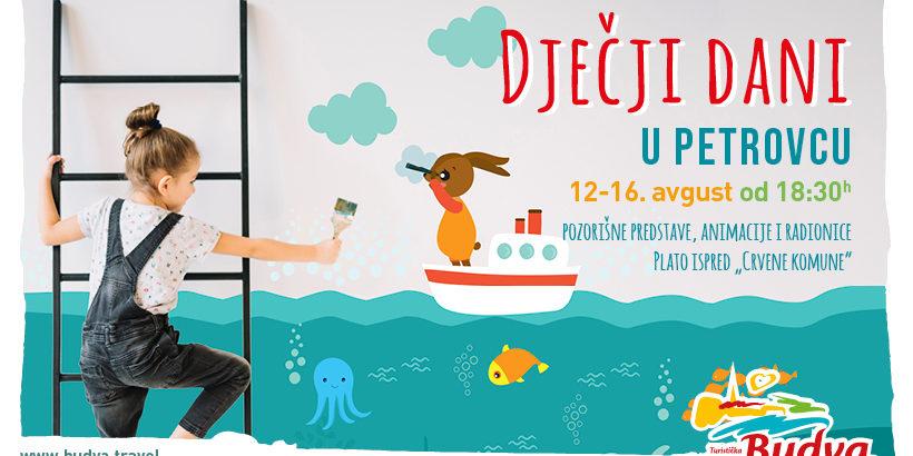 Dječji dani u Petrovcu: Predstave, radionice, klovnovi…