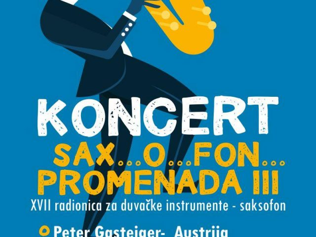 "Večeras uživajte u Tivtu na koncertu ""Sax…O…Fon…promenade III"""