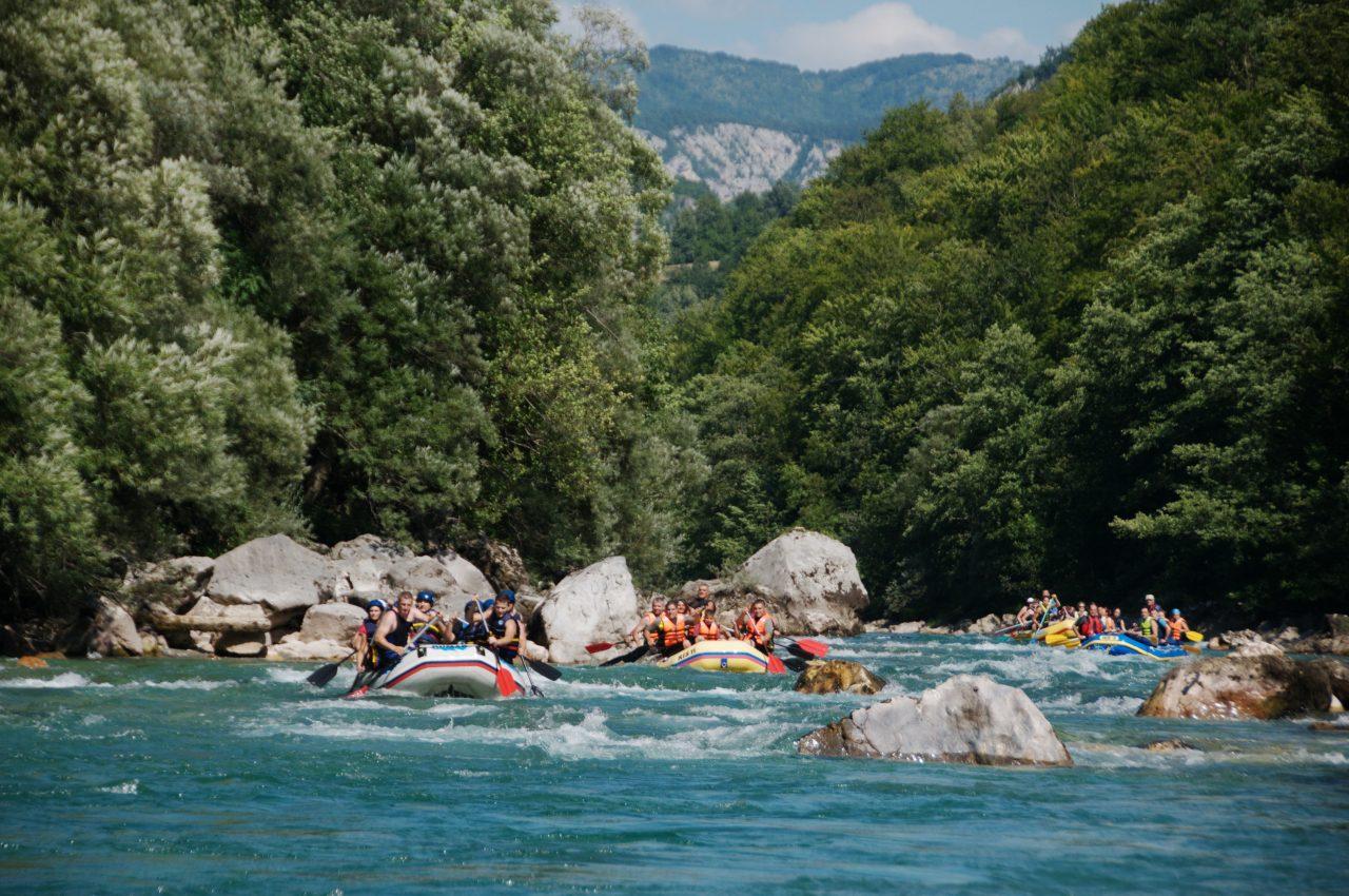 Rekordi u broju posjetilaca na raftingu Tarom i na Skadarskom jezeru